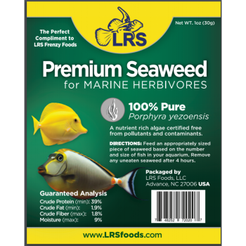 Larry's Reef Services Seaweed